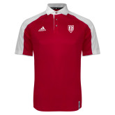Adidas Modern Red Varsity Polo-Shield