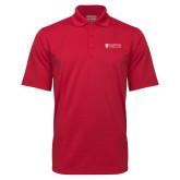 Red Mini Stripe Polo-Primary Mark