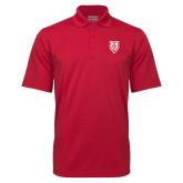 Red Mini Stripe Polo-Shield