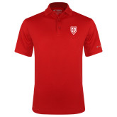 Columbia Red Omni Wick Round One Polo-Shield