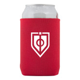 Collapsible Red Can Holder-Shield