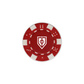 Red Game Chip-Shield