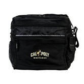 All Sport Black Cooler-Calpoly Mustangs Primary Mark
