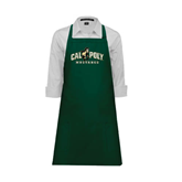 Full Length Dark Green Apron-Calpoly Mustangs Primary Mark