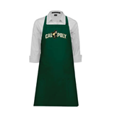 Full Length Dark Green Apron-Calpoly w/ Mustang
