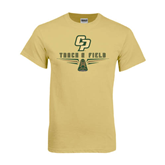 Champion Vegas Gold T Shirt-Track and Field Shoe Design