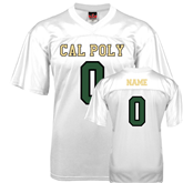 Replica White Adult Football Jersey-Personalize