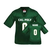 Youth Replica Dark Green Football Jersey-Personalize