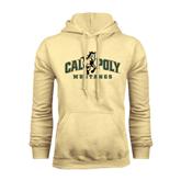 Champion Vegas Gold Fleece Hoodie-Calpoly Mustangs Primary Mark
