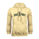 Champion Vegas Gold Fleece Hoodie-Calpoly w/ Mustang