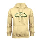 Champion Vegas Gold Fleece Hoodie-Arched Football Design