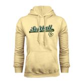 Champion Vegas Gold Fleece Hoodie-Softball Bat Design