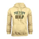 Champion Vegas Gold Fleece Hoodie-Tee Off Golf Design