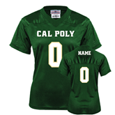 Ladies Dark Green Replica Football Jersey-Personalize