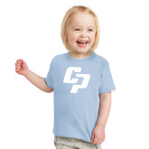 Toddler Light Blue T Shirt-Interlocking CP