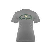Youth Syntrel Performance Steel Training Tee-Arched Football Design