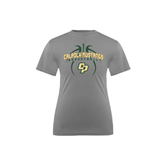 Youth Syntrel Performance Steel Training Tee-Basketball In Ball Design
