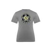 Youth Syntrel Performance Steel Training Tee-Soccer Ball Design