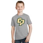 Youth Grey T-Shirt-Interlocking CP
