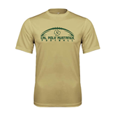 Performance Vegas Gold Tee-Arched Football Design