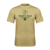 Performance Vegas Gold Tee-Track and Field Shoe Design