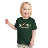 Toddler Dark Green T Shirt-Calpoly Mustangs Primary Mark