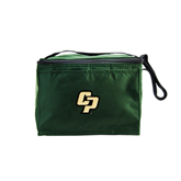 Six Pack Dark Green Cooler-Interlocking CP