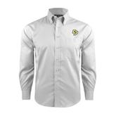 Red House White Long Sleeve Shirt-Interlocking CP