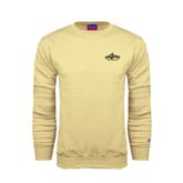Champion Vegas Gold Fleece Crew-Calpoly Mustangs Primary Mark