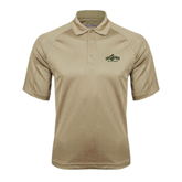 Vegas Gold Textured Saddle Shoulder Polo-Calpoly Mustangs Primary Mark