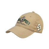 Vegas Gold Twill Unstructured Low Profile Hat-Calpoly Mustangs Primary Mark