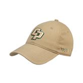Vegas Gold Twill Unstructured Low Profile Hat-Interlocking CP