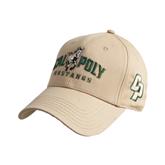 Vegas Gold Heavyweight Twill Pro Style Hat-Calpoly Mustangs Primary Mark
