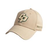 Vegas Gold Heavyweight Twill Pro Style Hat-Interlocking CP
