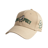 Vegas Gold Heavyweight Twill Pro Style Hat-Calpoly w/ Mustang