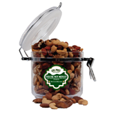 Deluxe Nut Medley Round Canister-Calpoly Mustangs