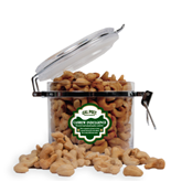 Cashew Indulgence Round Canister-Calpoly Mustangs