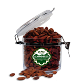 Almond Bliss Round Canister-Calpoly Mustangs