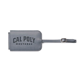 Fabrizio Grey Luggage Tag-Calpoly Mustangs Engraved