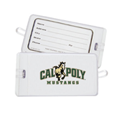 Luggage Tag-Calpoly Mustangs Primary Mark
