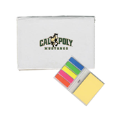 Micro Sticky Book-Calpoly Mustangs Primary Mark