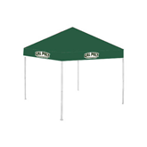 9 ft x 9 ft Dark Green Tent-Calpoly Mustangs