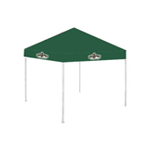 9 ft x 9 ft Dark Green Tent-Calpoly Mustangs Primary Mark