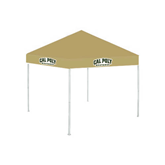 9 ft x 9 ft Vegas Gold Tent-Calpoly Mustangs