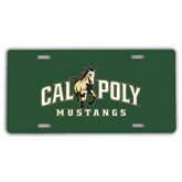 License Plate-Calpoly Mustangs Primary Mark