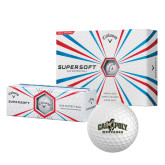Callaway Supersoft Golf Balls 12/pkg-Calpoly Mustangs Primary Mark