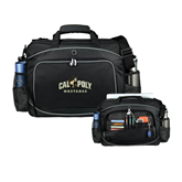 Hive Checkpoint Friendly Black Compu Case-Calpoly Mustangs Primary Mark