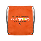 Orange Drawstring Backpack-2018 Mens Tennis Champions