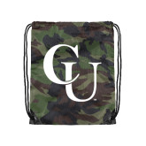 Camo Drawstring Backpack-CU