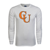 White Long Sleeve T Shirt-CU